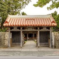 桃林寺入口