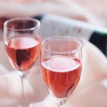 記念日にはワインのサービスを♪