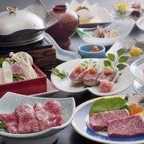 トリプル伊予牛会席夏(グルメ)料理イメージ