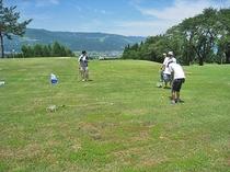 舞子高原リゾート・グラウンドゴルフ(当ロッヂから徒歩約5分)