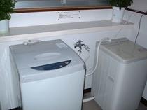 全自動洗濯機完備!※乾燥機なし