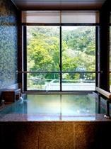 【別邸】半露天風呂付き和洋室(誕生寺側・バリアフリー仕様)風呂