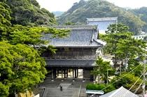 誕生寺(ヨコ)