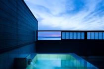 【別邸】屋上露天風呂&テラス付き特別室(バリアフリー仕様)お風呂