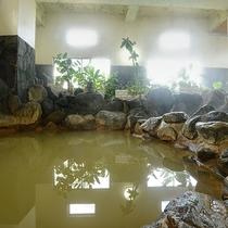 *【大浴場】月の湯温泉は沼津で唯一のにごり湯♪天然イオン泉なので翌日はつるつや素肌★