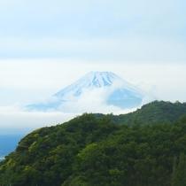 *季節によって表情を変える富士山を当館からお楽しみください。