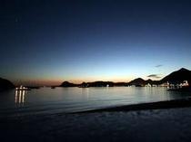 朝日・夕日も美しい下田港