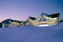 冬のホテル概観