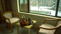 グランドツイン・ダブル36㎡のお部屋です。冬シーズンイメージ。