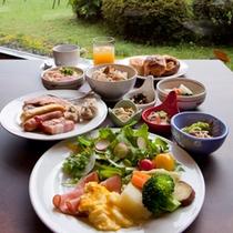 ■朝食バイキング(一例)■