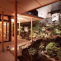夜の庭園(正)