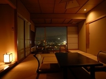 【12畳DX和室】一例(夜景)