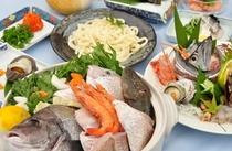 お手ごろな海鮮鍋