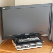 液晶テレビ:全客室にご用意しております。