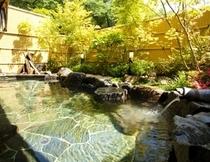 【光明の湯】露天風呂 月の棟1階