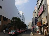 JR大森駅東口出口