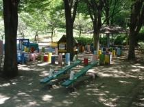 品川区民公園内子供の遊び場