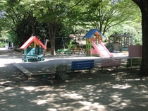 品川区民公園内子供の遊び場②