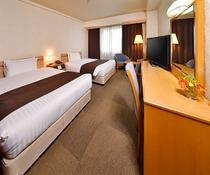 ツインルーム(Bed120×195cm×2台)