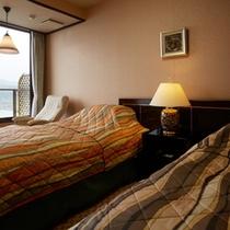 朝凪の棟|最上階特別室ベッドルーム