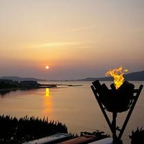 和風レストランあまのゆ|夕景を眺めながらお食事ができます
