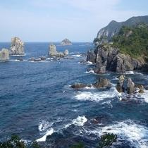 青海島|北長門海岸国定公園の代表的な景勝地
