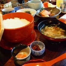 【ご朝食】朝がゆ