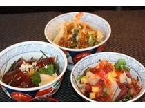レストランメニュー(各種丼ぶりもの)