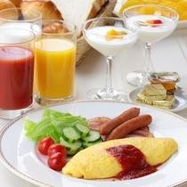 洋食朝食バイキング