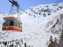 冬のアルペンルート