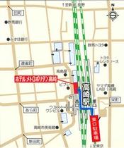 東口駐車場地図