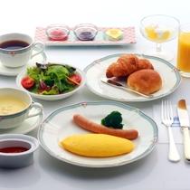 朝食 洋定食 2016年11月リニューアル