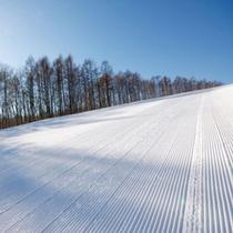 *良質な雪に包まれた銀世界で冬を満喫☆