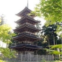 【観光】県内唯一の五重塔 妙宣寺(みょうせんじ)