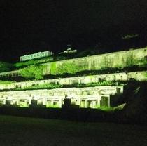 【イベント】北沢浮遊選鉱場跡ライトアップ