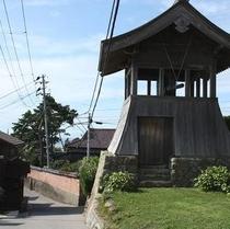 【散歩】相川の時を知らせる時鐘楼(じしょうろう)