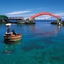 【観光】矢島経島のたらい舟