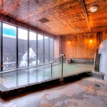 【弐の湯】内風呂(冬)