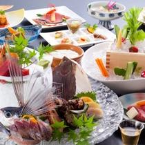 今回の旅行は、料理にこだわりたい。という方に選ばれている、創作加賀料理sabroso上級コースです。