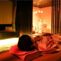 山代温泉唯一の貸切個室岩盤浴。