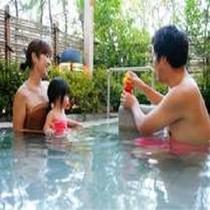 家族で貸し切り露天風呂