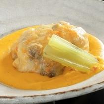 桜鯛のパイ包み焼 野菜ソース