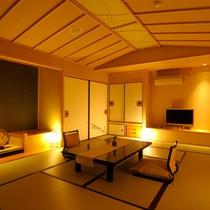スイートルーム檜扇 和室