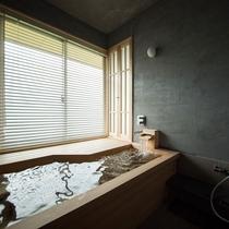 スイートルーム都わすれ 客室展望風呂