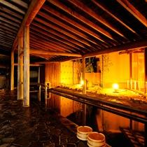 男性大浴場「白梅の湯」露天風呂