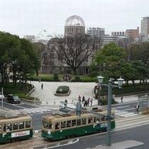 ★広島タウン★ 路面電車(昼)