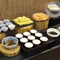 【ご朝食メニュー】         豊富な種類を取り揃えてございます。