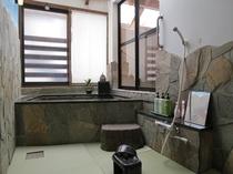 貸切専用「石のおやま畳風呂」(一人用サウナ付)無料 new! 洗い場