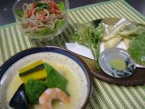 春〜夏のお料理(一例)