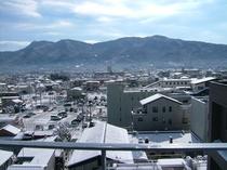箱根連山の景色